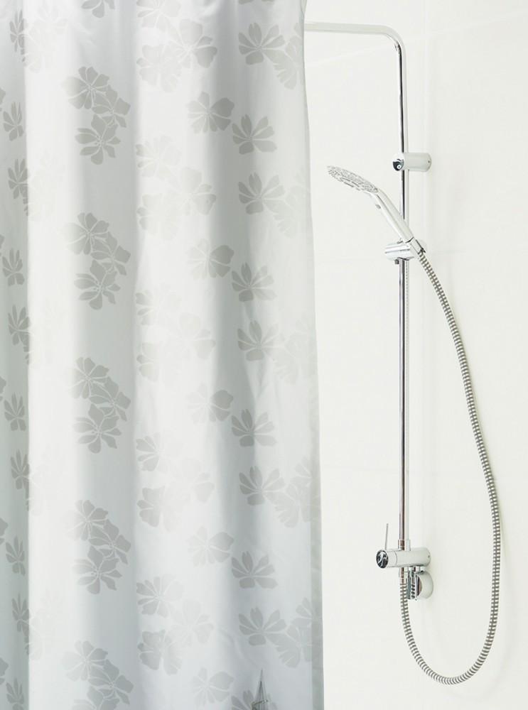 hochwertiger duschvorhang carina 150 x 200 cm mit 9 mm sen. Black Bedroom Furniture Sets. Home Design Ideas
