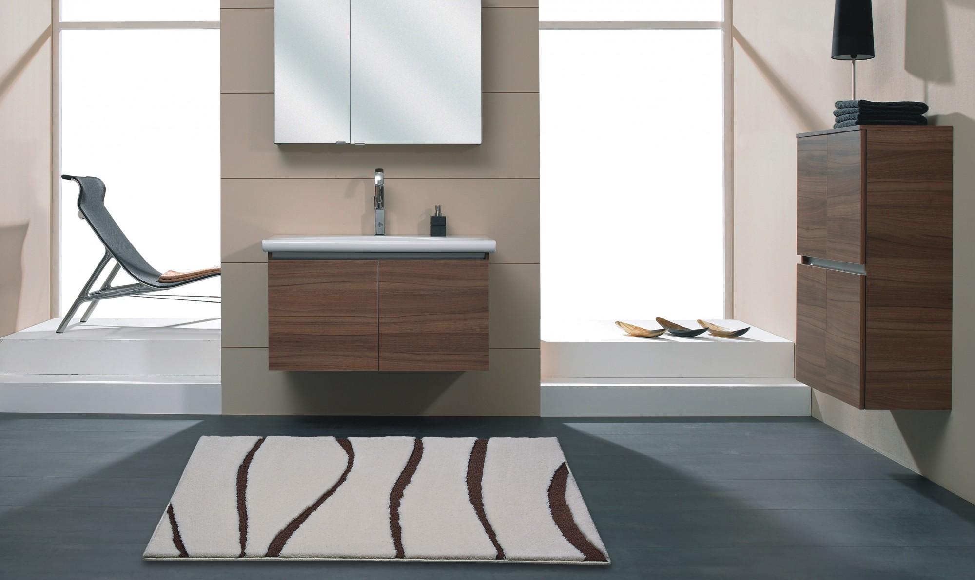 badteppich versus jasmin braun dunkel von clarissa. Black Bedroom Furniture Sets. Home Design Ideas