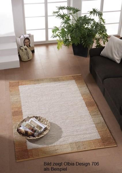 handwebteppich olbia uni col 3310 von tisca. Black Bedroom Furniture Sets. Home Design Ideas