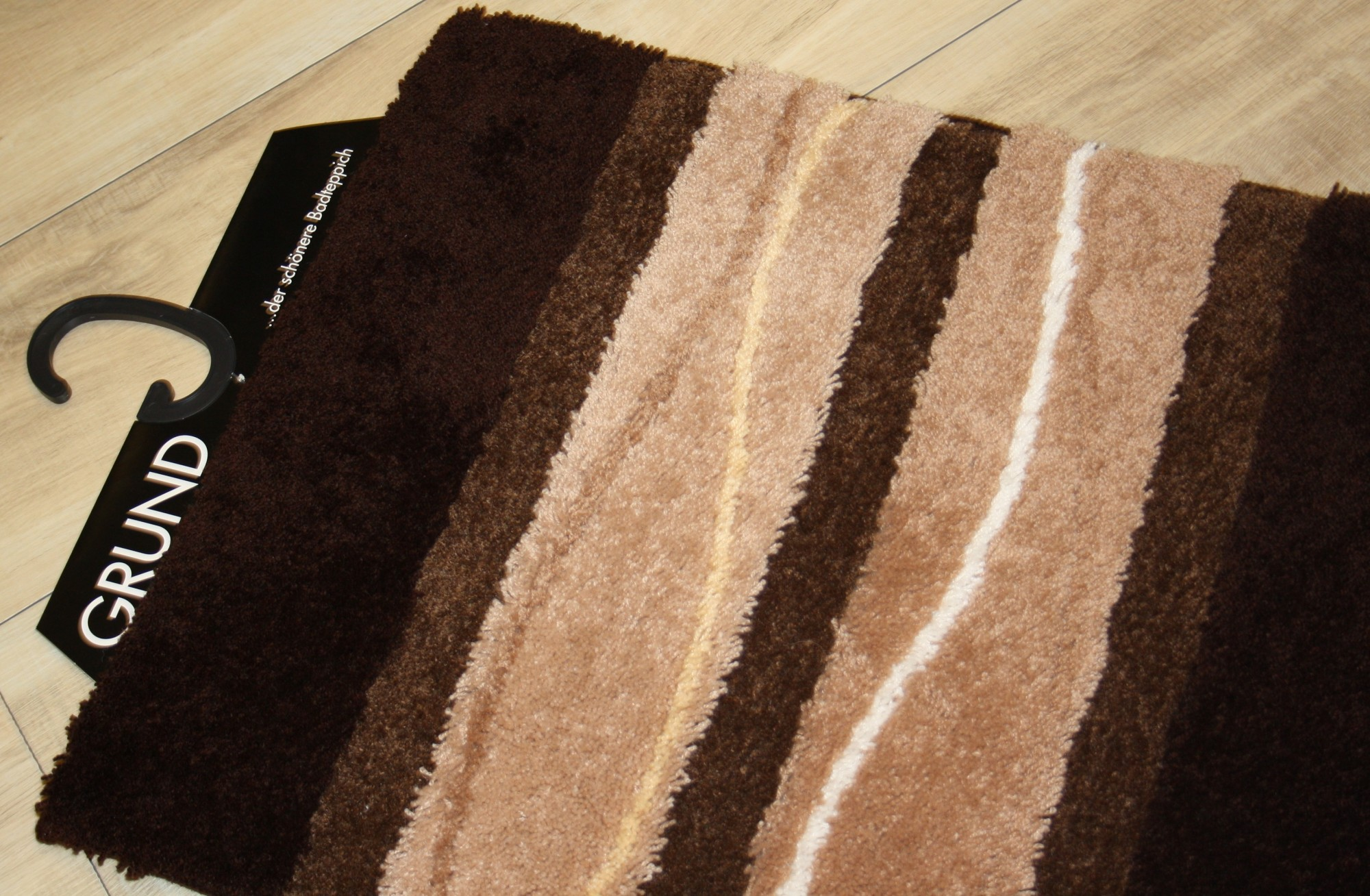 badteppich orly 50 x 60 cm braun von grund. Black Bedroom Furniture Sets. Home Design Ideas