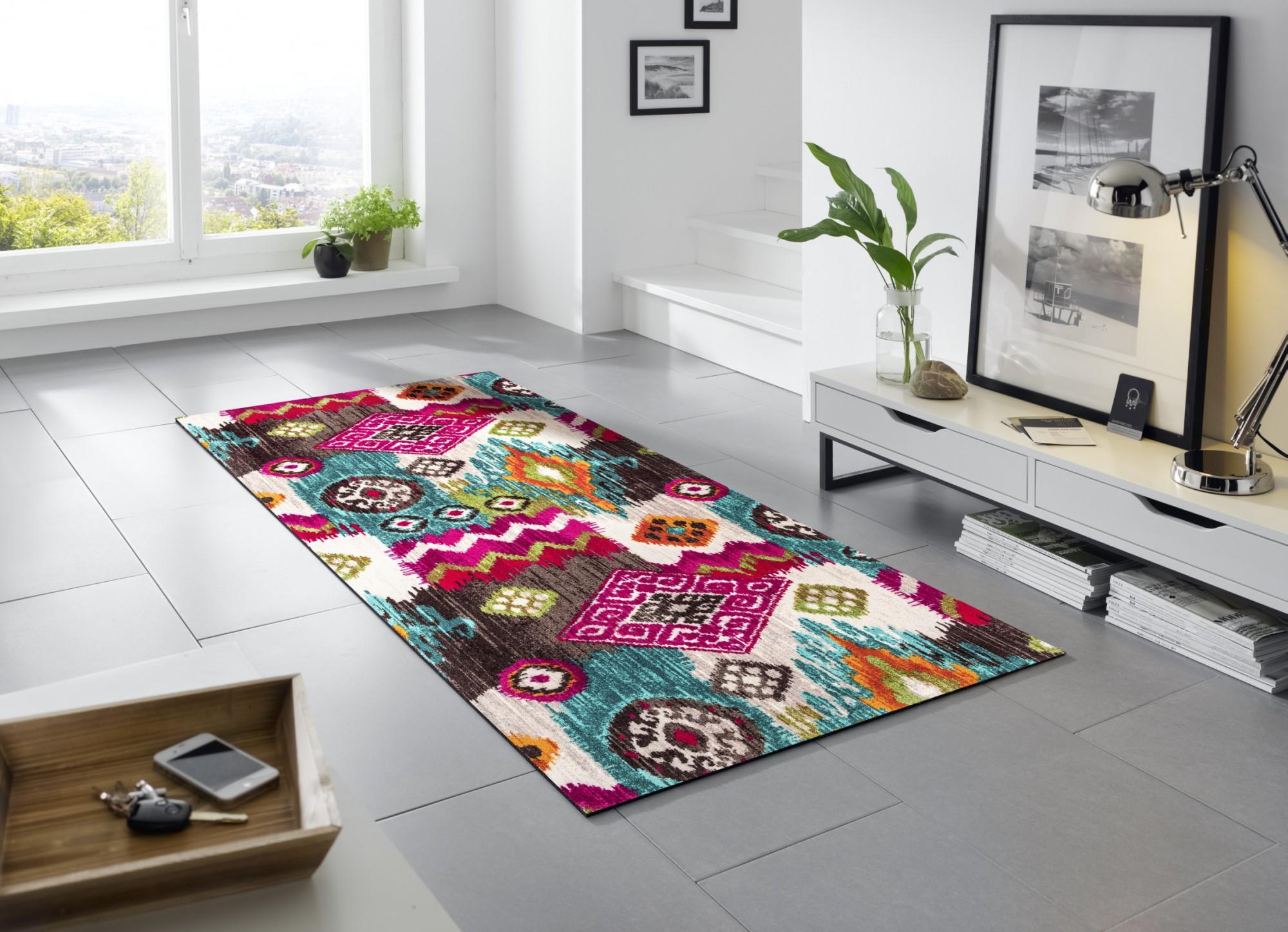 wash dry ikat patterns waschbarer teppich. Black Bedroom Furniture Sets. Home Design Ideas