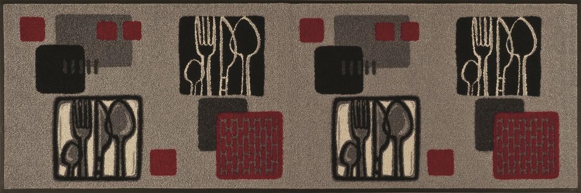 wash dry k chenteppich kitchen squares 60 x 180 cm. Black Bedroom Furniture Sets. Home Design Ideas